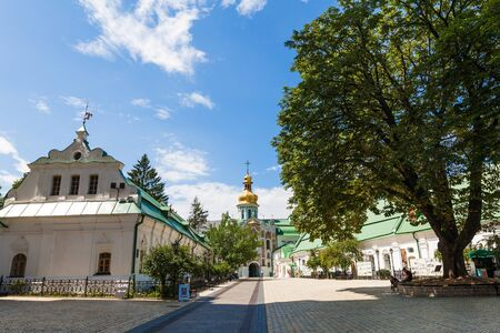 lavra: View of the ancient Kiev Pechersk Lavra