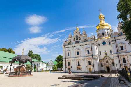 lavra: view of the ancient Kiev Pechersk Lavra Stock Photo