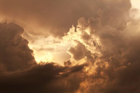 Natural background of the sky and clouds Stock Photo - 43976003