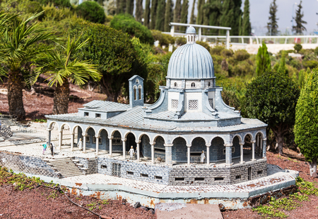 miniatures: Miniatures Museum of Israel Stock Photo