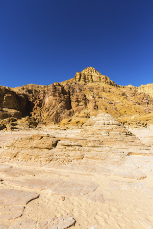 desert sun: landscape in the desert sun by day