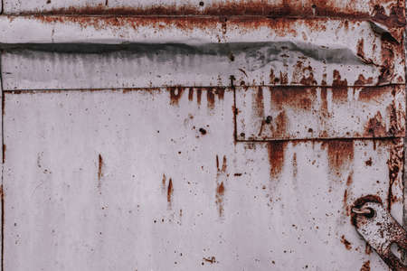 abstract background of rusty iron texture closeup