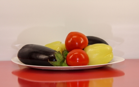 verry: Vegetarian food, healthy and verry good Stock Photo