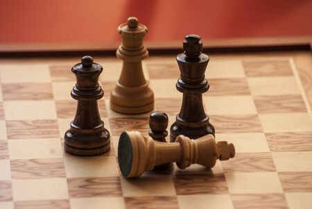 Chess, is time to paly a game photo