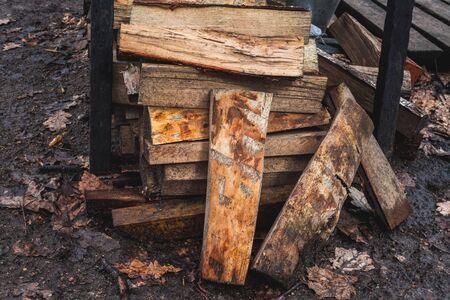 stockmarket: fire woods Stock Photo