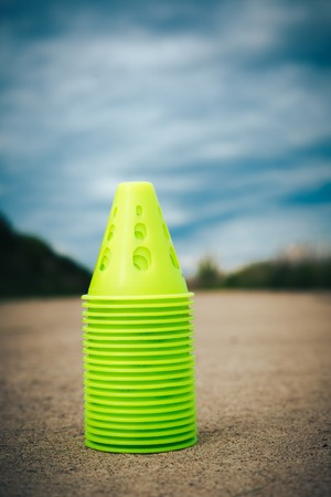 Small cones for the rollers in the park