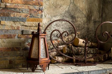 古いランプ