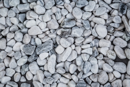 White Pebbles Wallpaper Photo