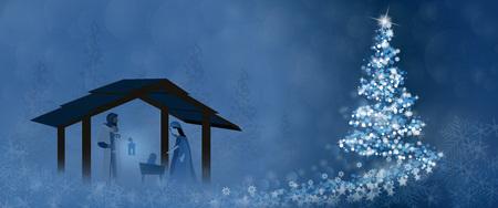 Christmas greeting card design concept. 일러스트
