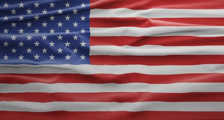 American National Holiday. US Flag background with American stars, stripes and national colors. 写真素材