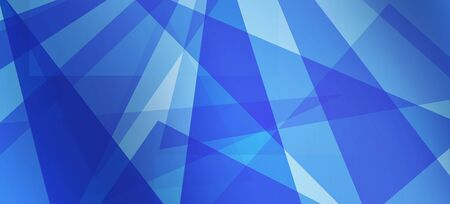 Abstract background. Intersecting lines and polygons in blue colors. Zdjęcie Seryjne