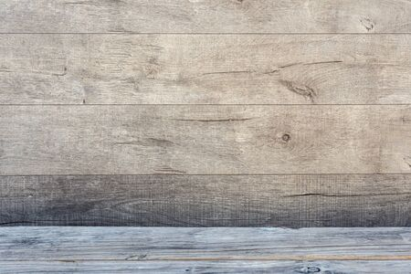 Old grunge dark textured wooden background. The surface of an old brown texture. Brown teak wood paneling