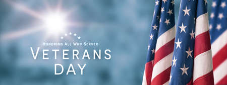 American National Holiday. US Flag background with American stars, stripes and national colors. Memorial Day or Veterans Day concept. Stok Fotoğraf