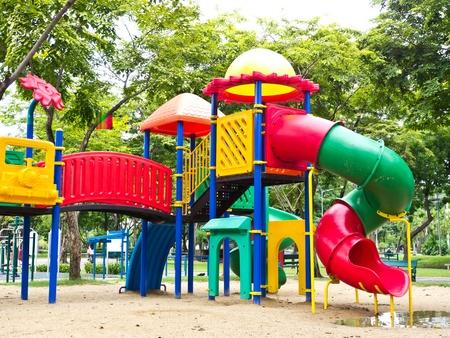 Colorful children playground photo