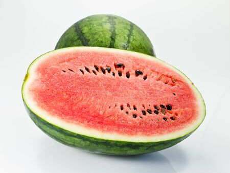 Half cut of watermelon