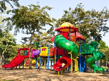 kids playground: Children playground Stock Photo