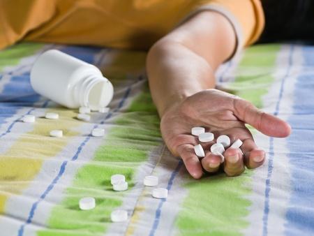 sobredosis: Tomar una sobredosis