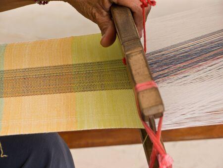 Weaving apparatus photo