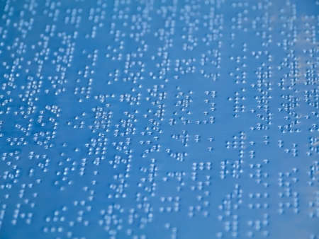 Braille letter Stock Photo - 16565401