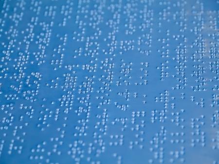 braile: Carta en braille
