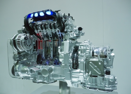 pistons: Engine pistons Stock Photo