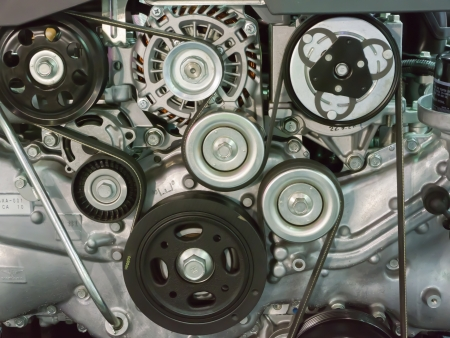 Engine belt photo