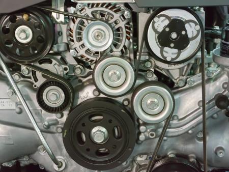 pulley: Motor cintur�n
