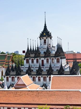matallic: Loha Prasat, landmark in Bangkok