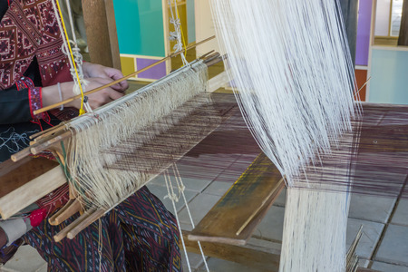 apparatus: Weaving traditional Thai cloths with local apparatus