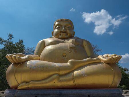 gautama buddha: Gautama Buddha or Katyayana or Kasennen in Buddhist temple in Thailand