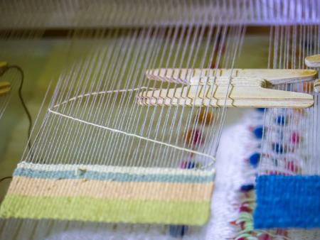 Small handicraft loom