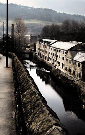 Yorkshire Industrial Scene Editorial