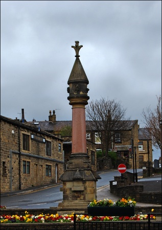 Memorial to World War One at Baildon West Yorkshire