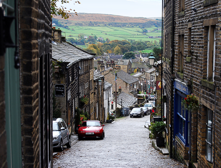Main Street Haworth West Yorkshire England