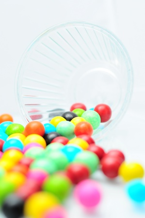 comfit: candy cup Stock Photo