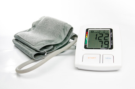 normal blood pressure digital blood pressure monitor photo