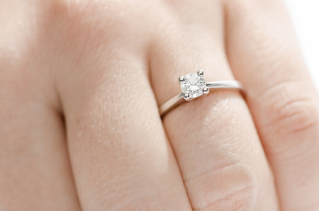 diamond shaped: Diamond Ring