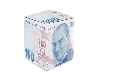 Turkish Lira Cube photo