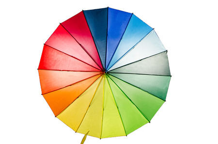 rainbow umbrella: Rainbow Umbrella