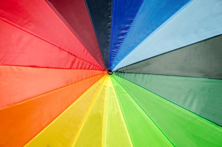 Rainbow Umbrella photo