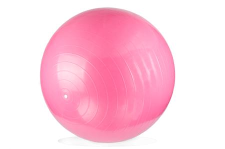 gym ball: Pink Fitness Ball