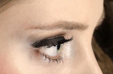 green eye: Beautiful Green Eye Stock Photo