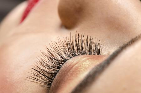 eyelashes: Close up Eyelashes Stock Photo