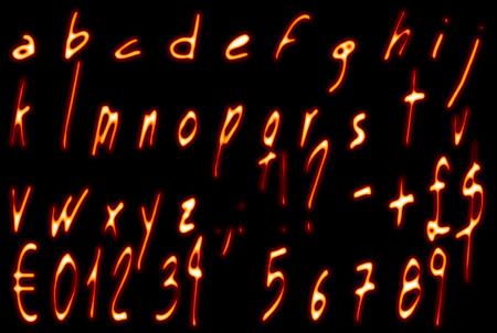 e u: Flame Alphabet