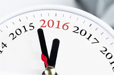 12 o'clock: t is 2 to 2016