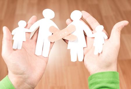 problemas familiares: tranquilo y familiar y los problemas familiares