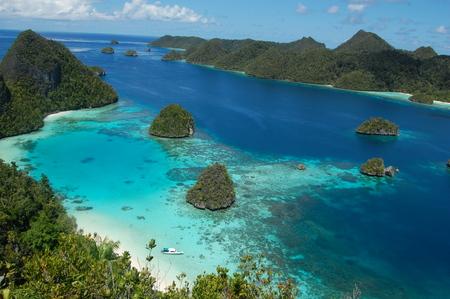 island Landscape in Indonesia