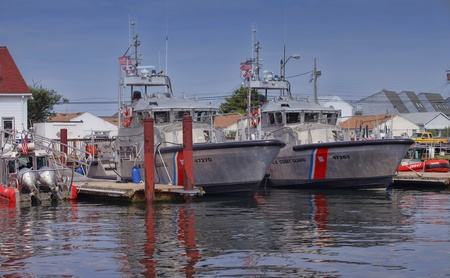 Coast Guard Boats, Manasquan Station, NJ
