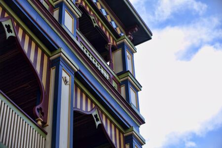 Victorian Painted Lady building