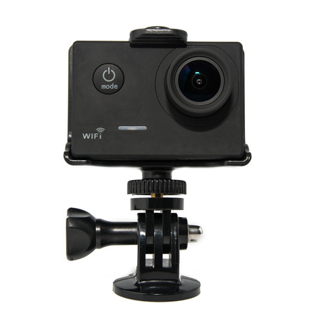 Action Camera isolated on White Background